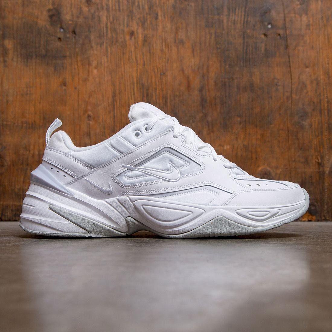 Nike Men M2k Tekno White White Pure Platinum Sneakers Men Fashion Nike Men Custom Shoes