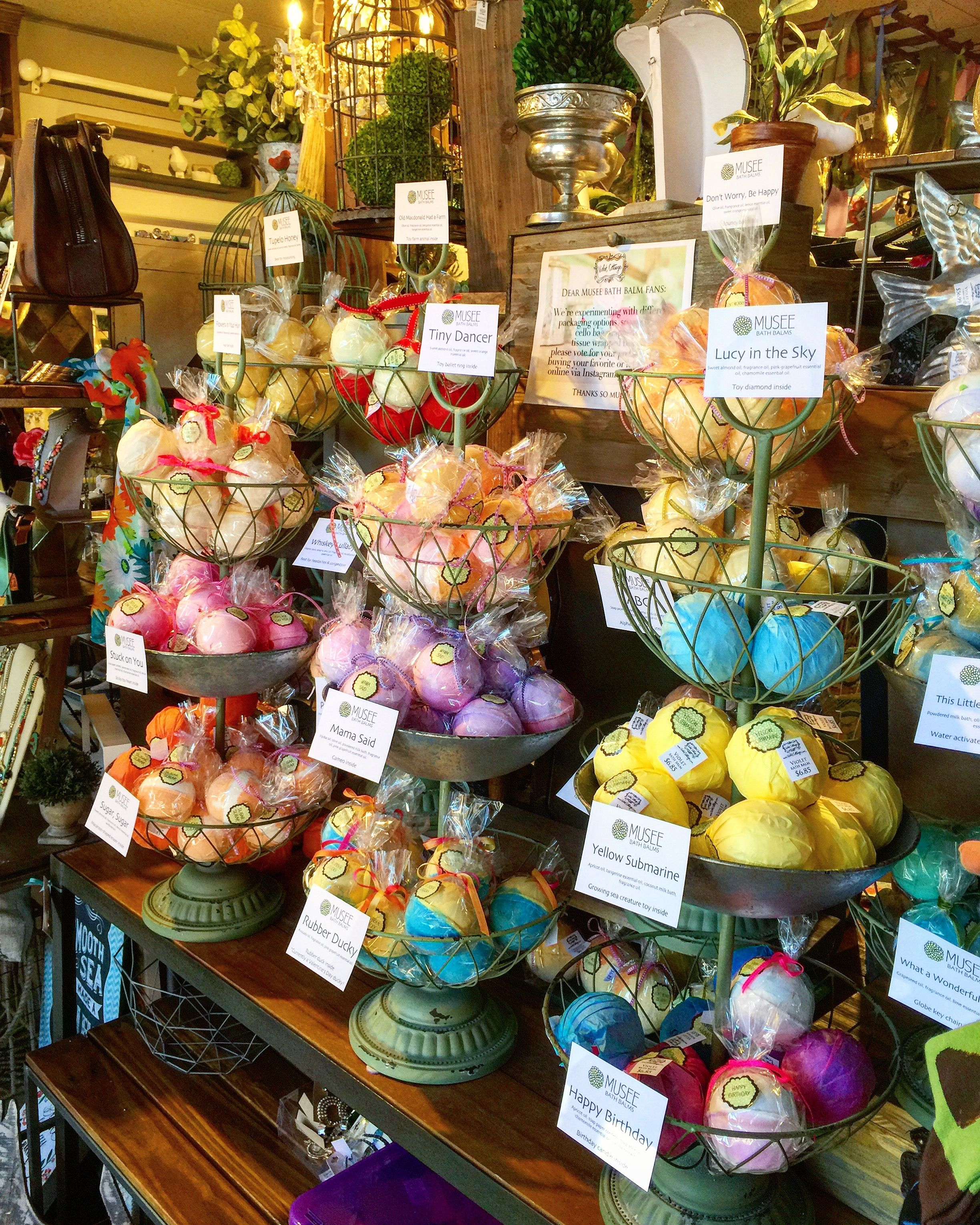 Bath Bombs All In A Row Violet Cottage Located At 8601 Glenwood