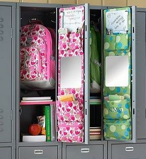 Locker Designs Ideas paisley locker decal This Is An Awesome Way To Organize A Locker