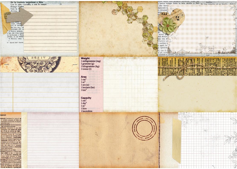 Free Printable Vintage Journal Cards Tortagialla Journal Cards Vintage Journal Cards