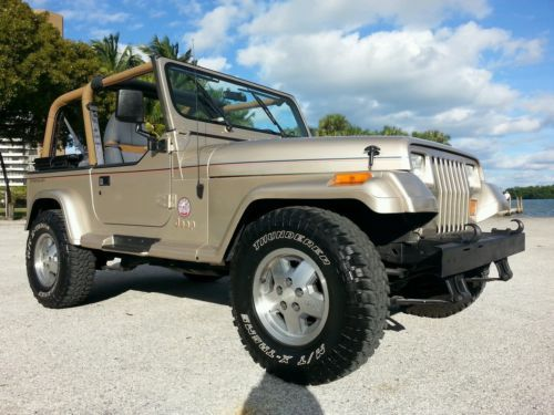 1993 Jeep Wrangler Sahara Sport Utility 2 Door 4 0l One Owner