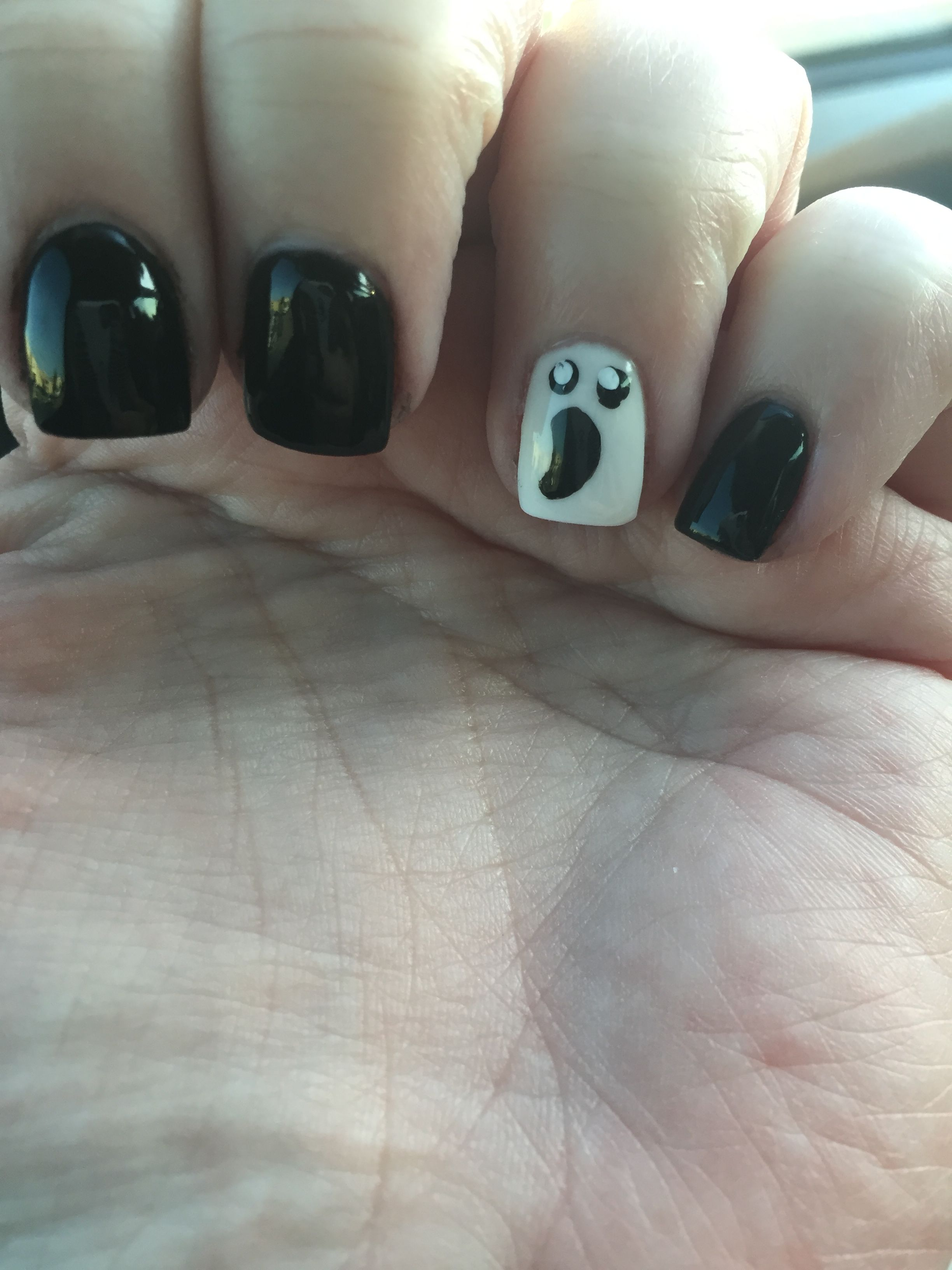 Sns Dipping Powder Ghost Halloween Sns Nails Colors Sns Nails Designs Sns Nails