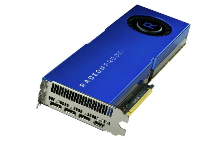 Amd Launches Dual Gpu Radeon Pro Duo With 32gb Of Gddr5 Graphic Card Amd Video Card