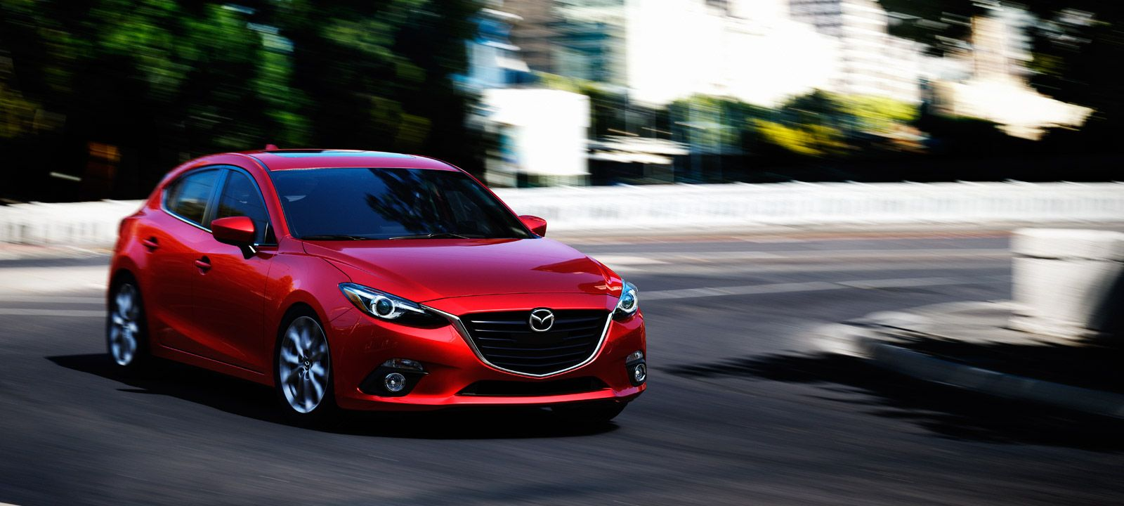 2015 Mazda 3 Hatchback Fuel Efficient Compact Car