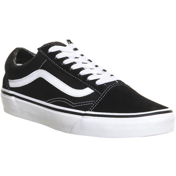 all black old skool vans junior
