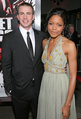 Naomie Harris and Chris Evans | Two or More.. | Pinterest ...