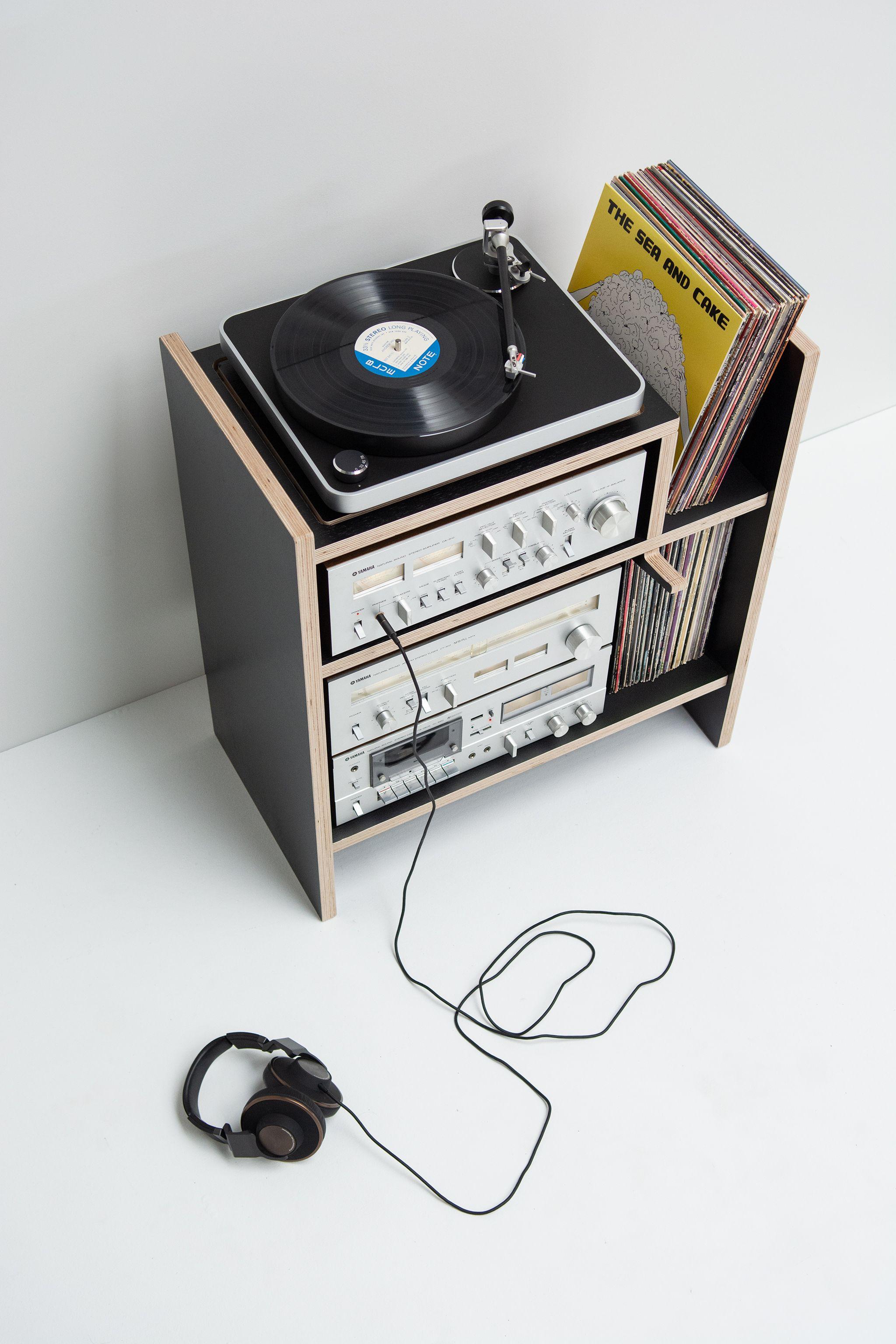Max Turntable Stand Vinyl Record Storage Diy Turntable Stand Vinyl Record Storage
