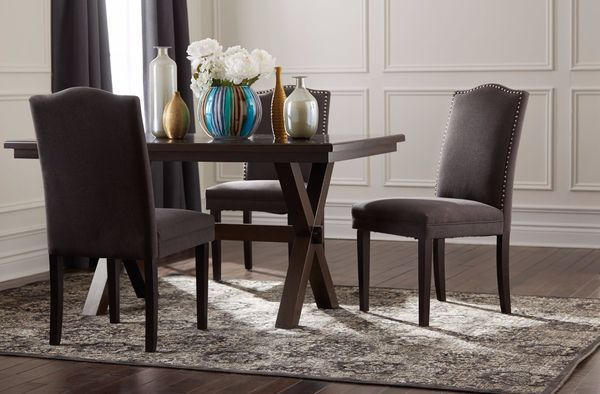 Add A Touch Of Elegance To Your Dining Set With The CANVAS Regent Nail Head  Dining