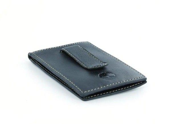 Timberland Black Genuine Leather Flip Clip Wallet With Id Window Wallet Timberland Wallets Clip Wallet