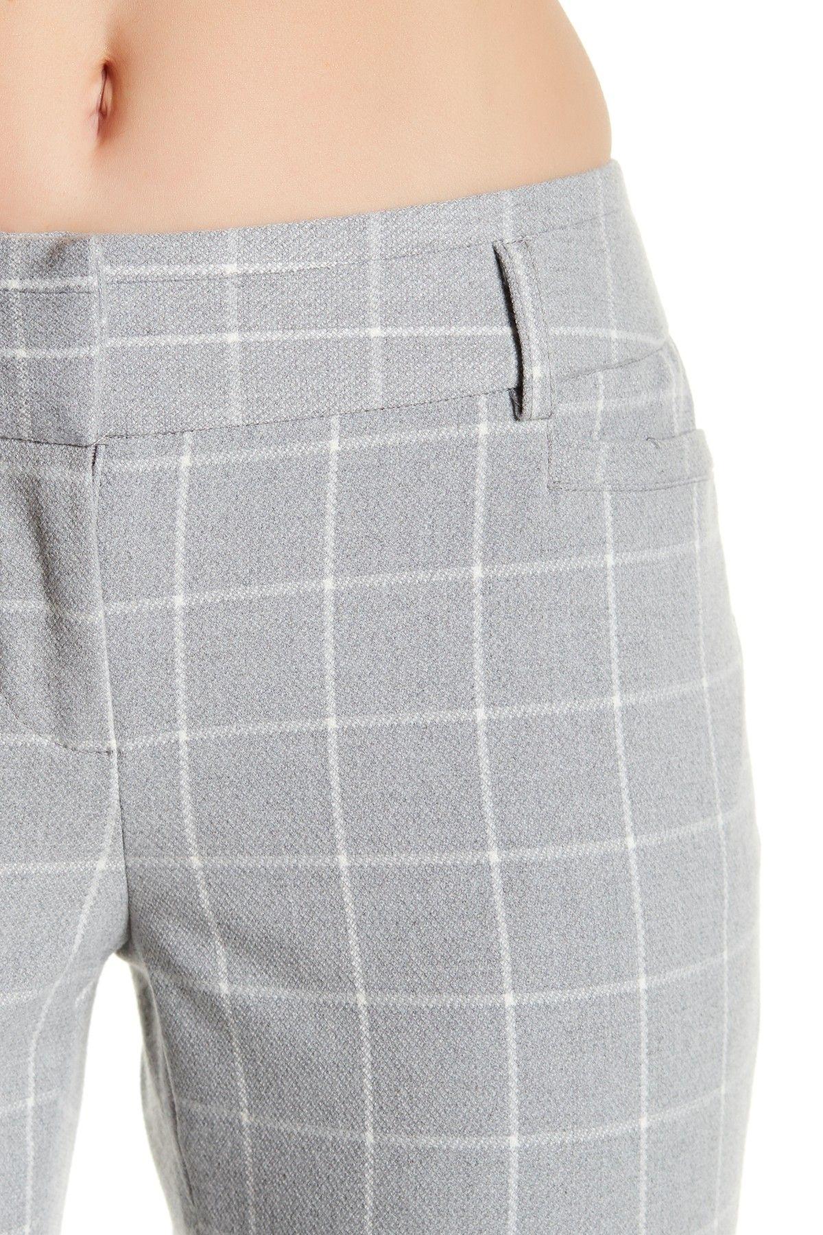 Plaid Notch Back Pant by Amanda & Chelsea on @nordstrom_rack