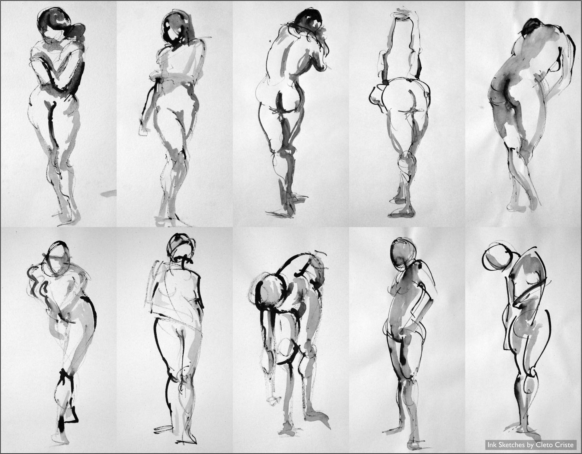 Sketch human figure google search
