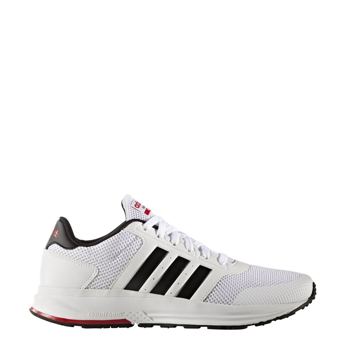 UK Shoes - Mens Adidas Cloudfoam Saturn White Athletic Sport Running Shoes AW3841 Sz 9-14 White
