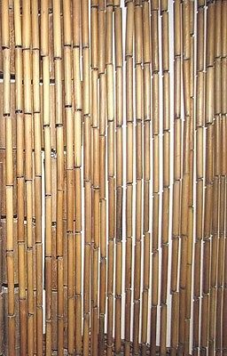 Painted Bamboo Door Curtain, Bamboo Beads Curtain, Window, Wall, Door Decor