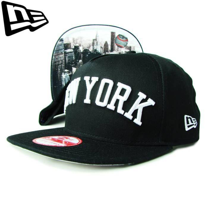 """【ニューエラ】【NEW ERA】9FIFTY NEW YORK YANKEES NY """"FLIP UP""""CITYシリーズ ブラック アンダーバイザー【CAP】【newera】【帽子】【スナップバック】【snap back】【snapback】【白】【黒】【ニューヨーク・ヤンキース】【キャップ】【あす楽】【楽天市場】"""