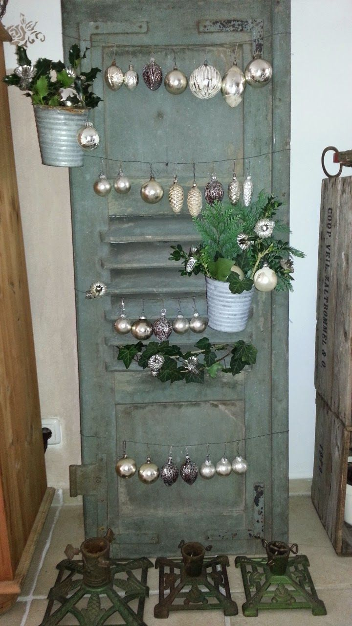 shabby house and garden alter klappladen weihnachten pinterest shabby xmas und shabby chic. Black Bedroom Furniture Sets. Home Design Ideas