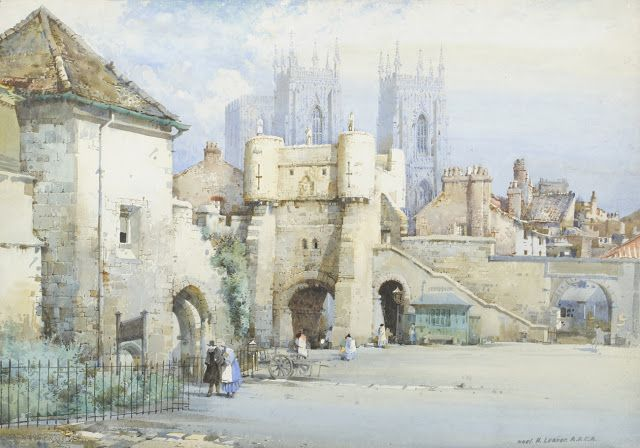 Noel Harry Leaver, (British, 1889-1951) - Watercolour
