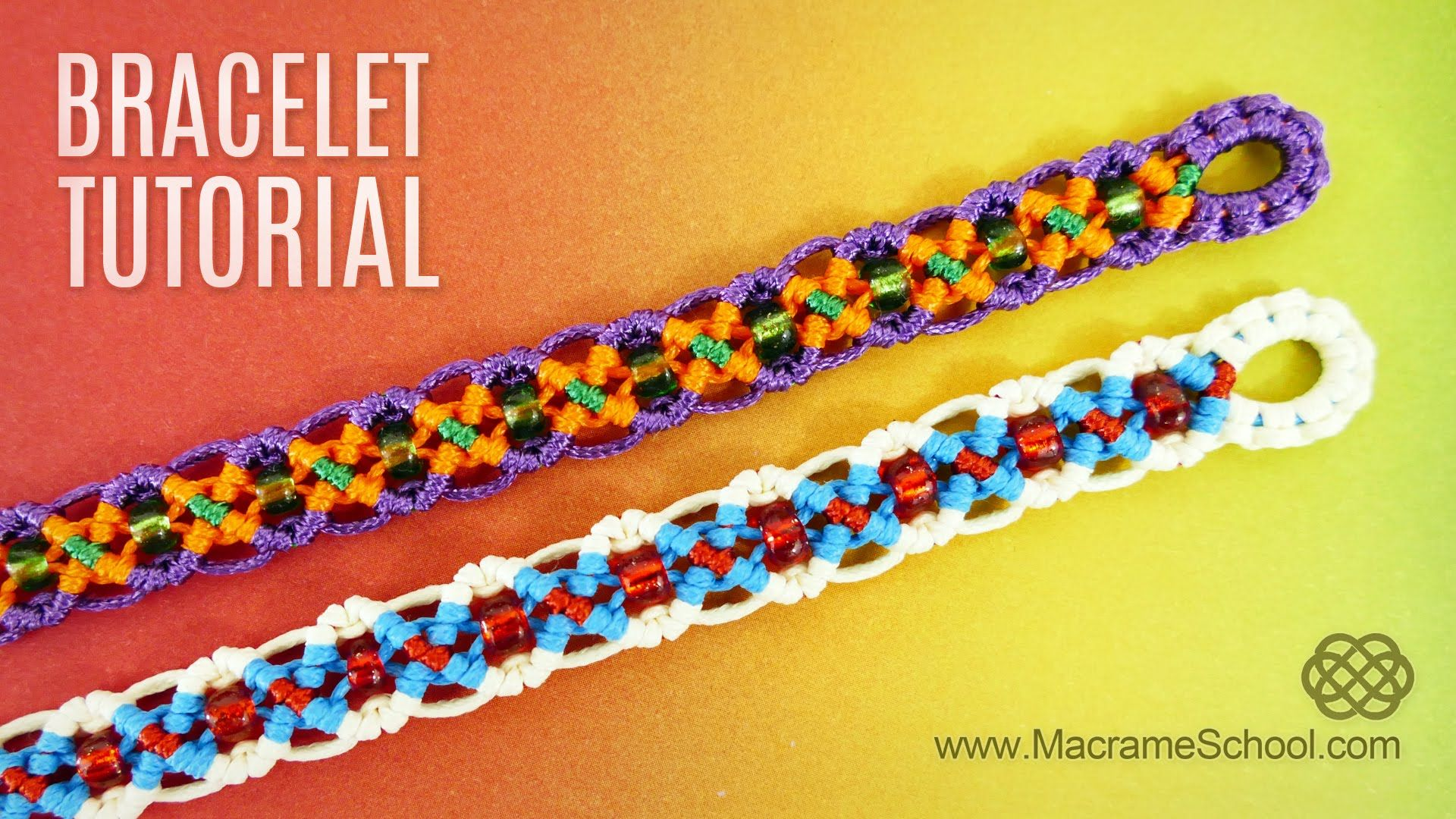 diy easy x wave bracelet for summer fun and beach macrame