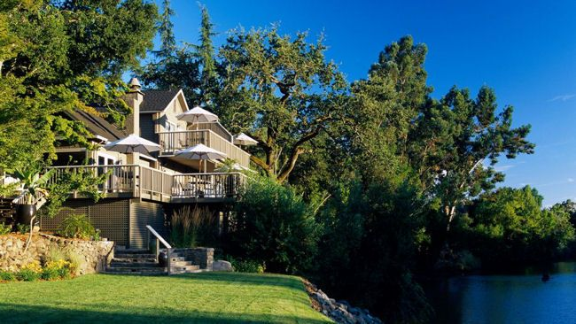 Milliken Creek Inn Spa A Boutique Luxury Hotel In The Very Heart Of Napa Announced That It Is Officially Recommended By Michelin Guide San