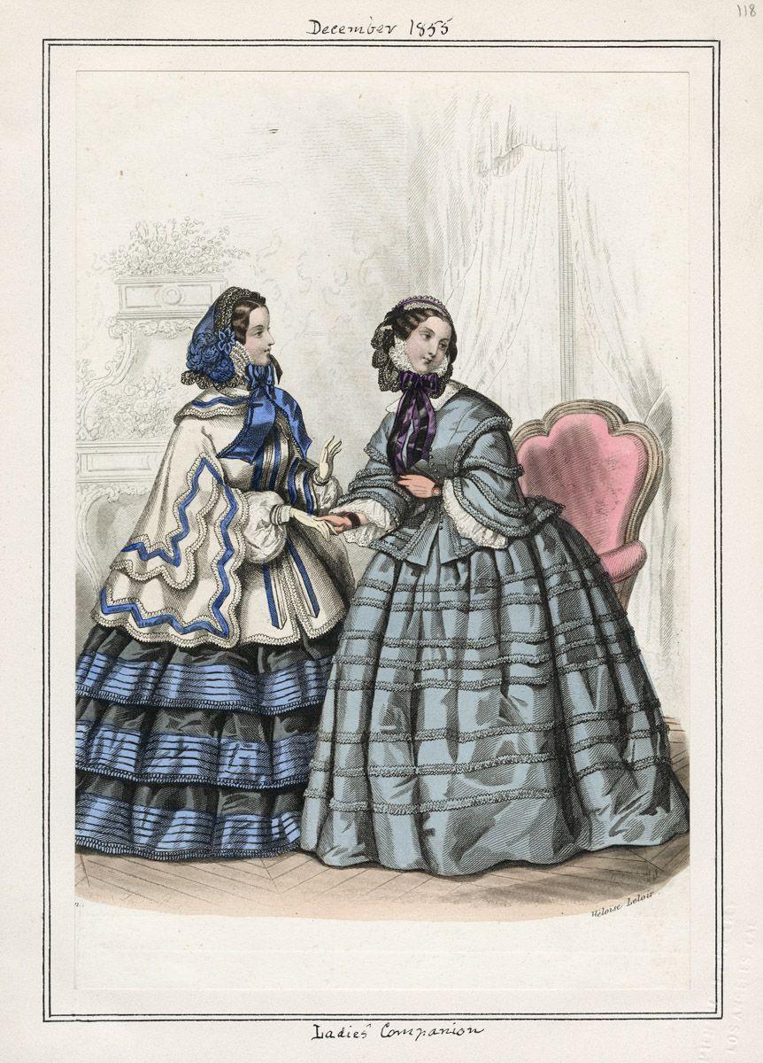 Ladies' Companion December 1855 LAPL
