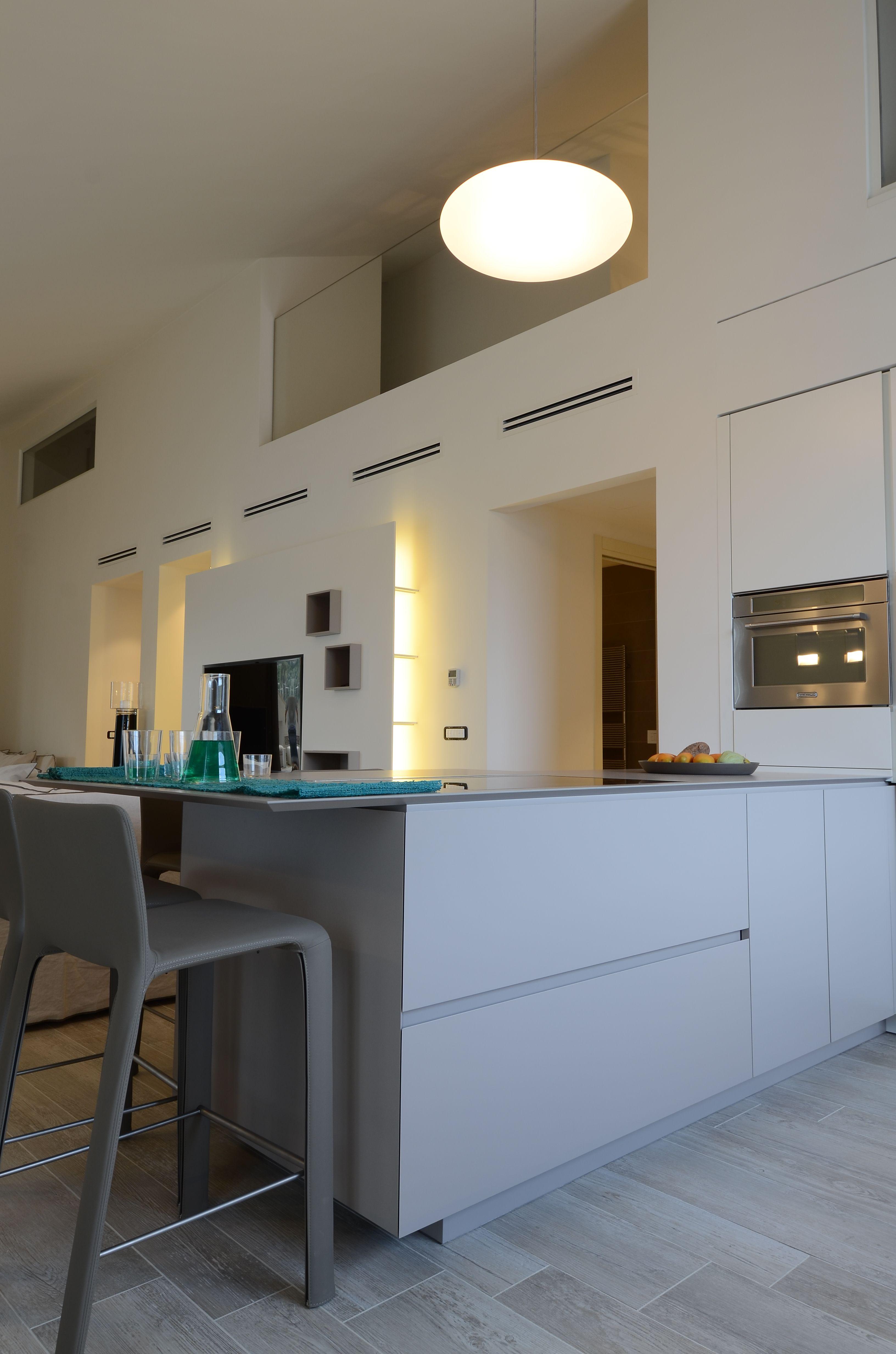 Cucina modello #Artex di #Varenna, #elettrodomestici #KitchenAid ...