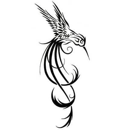 Tribal Hummingbird Tattoo Design Tattoowoo Com Hummingbird Tattoo Mermaid Tattoos Tattoos