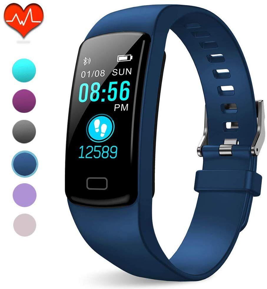 Pubu Fitness Tracker Ip67 Waterproof Fit Watch With Heart Rate Monitor Sleep Monitor Ped Fitness Smart Watch Samsung Fitness Tracker Fitness Watch Waterproof