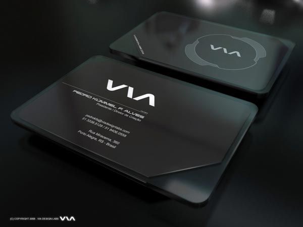 Plastic Business Card Plastic Business Cards Design Transparent Business Cards Business Card Design Black
