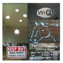 Vinyl Decals Stickers Pre made Coz Australia Free Classifieds