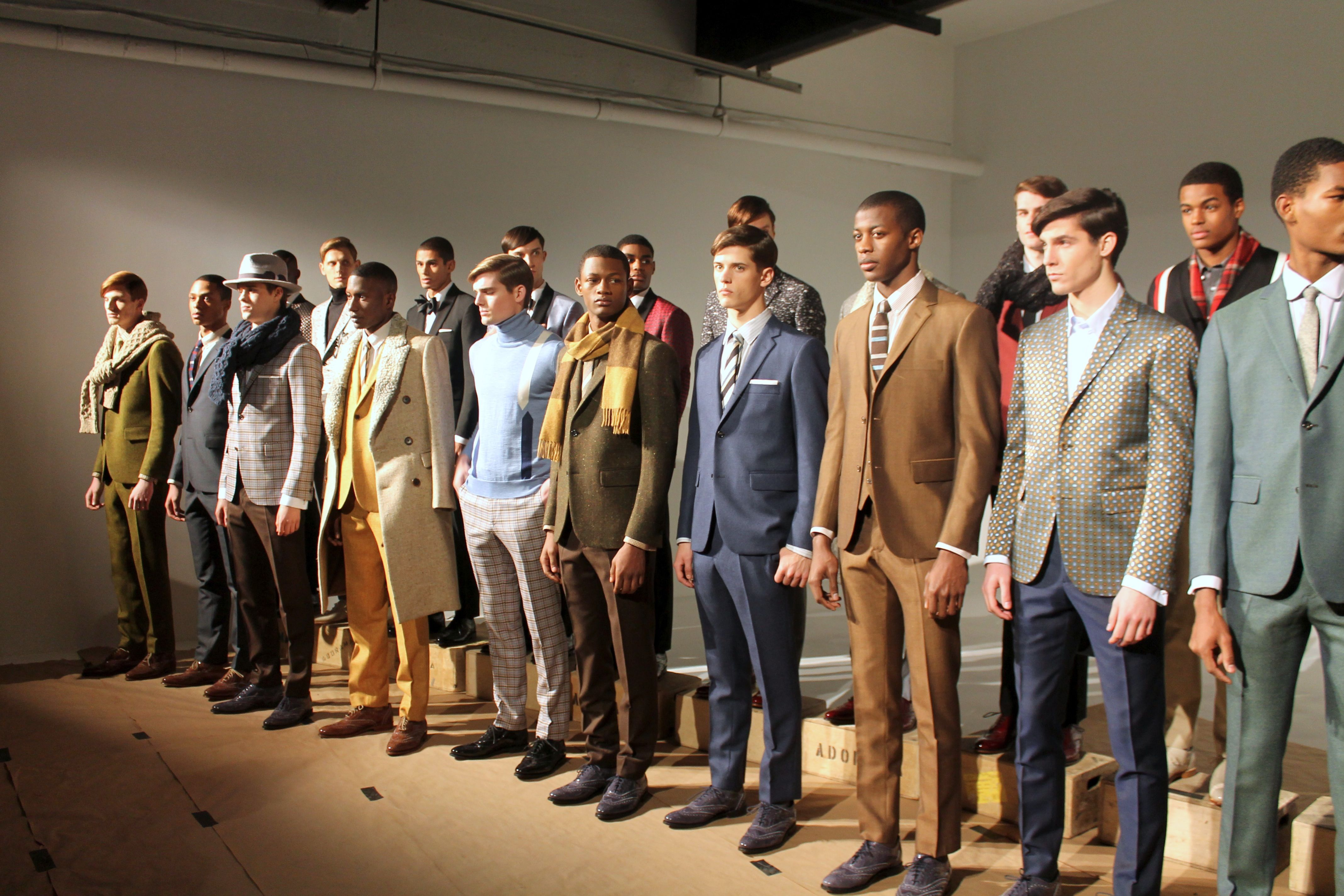 """NYFW FW14: David Hart's """"Twilight Zone""""-inspired Fitted Suits & Vintage Styled Menswear   VeeTravels.com"""