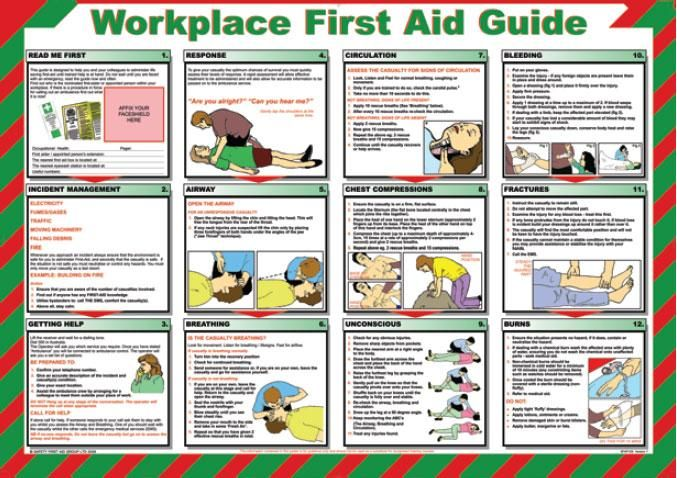 photograph regarding Printable First Aid Guides titled totally free printable 1st guidance consultant Montessori Very first guidance