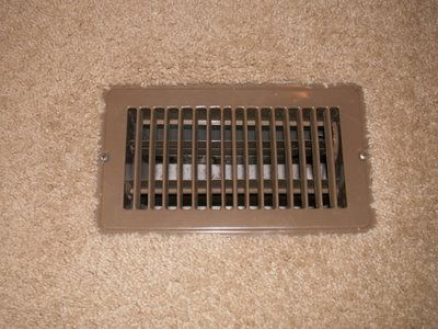 Rv Now Cover The Floor Vents In The Summer They Are Only For Heat Keeps Them From Collecting Dirt And Fro Travel Trailer Camping Camping Trailer Rv Stuff