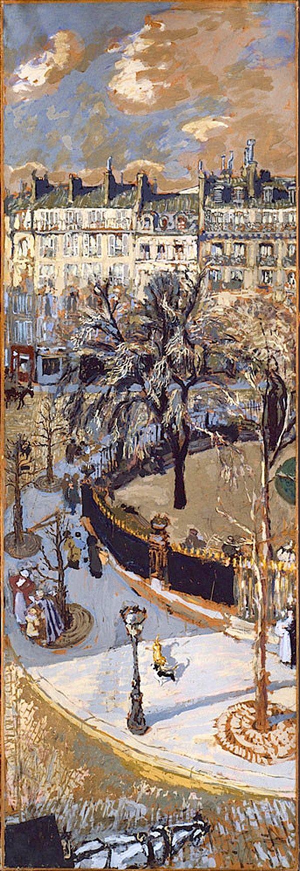 Edouard Vuillard, Place Vintimille, Paris, 1908