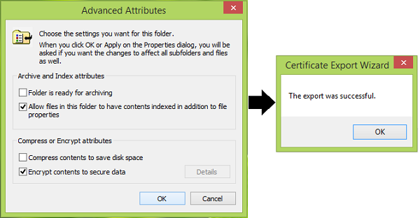 Encrypt Contents To Secure Data Option Is Disabled In Windows Data How To Apply Content