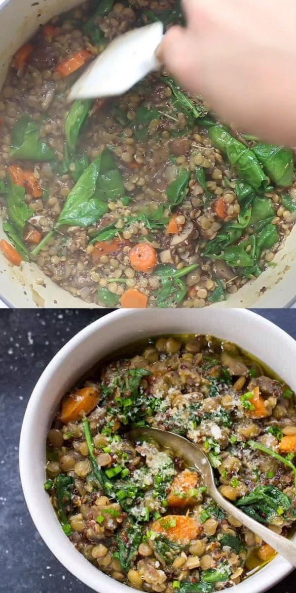 One-Pot Lentils + Quinoa | Simply Quinoa