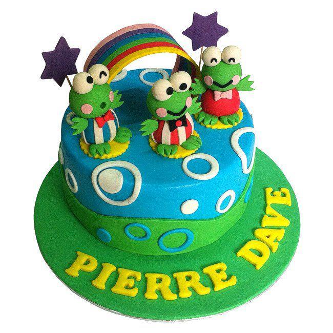 3d Sanrio Keroppi Character Themed Cake Johor Bahru Cake House