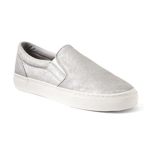 Gap Women Suede Slip On Sneakers ($50