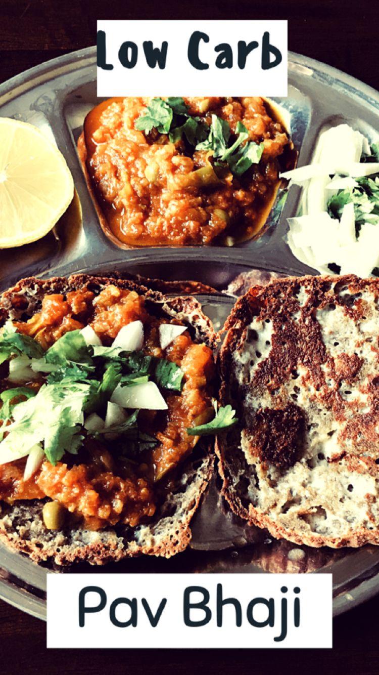 Pin by lowcarbdesiveg on Recipes Pav bhaji, Indian fast