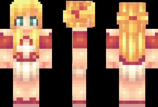 Girl Nurse Minecraft Skin