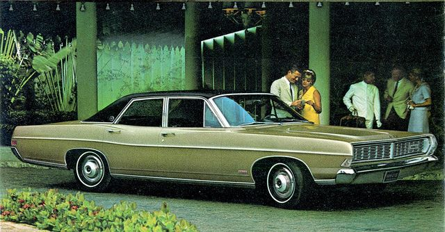 1968 Ford Ltd 4 Door Sedan With Images Ford Ltd American