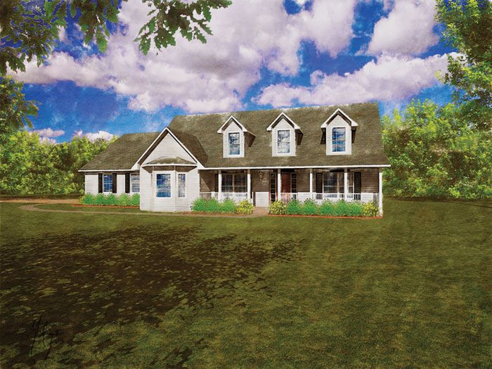Modular Home The Delaware 4 Bedroom 2 5 Bath 2646 Sq Ft Two Story Cape Cod Custom Home Builders Modular Homes Floor Plans