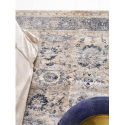 benuta Teppich Yara Beige 300×400 cm – Vintage Teppich im Used-Look benuta