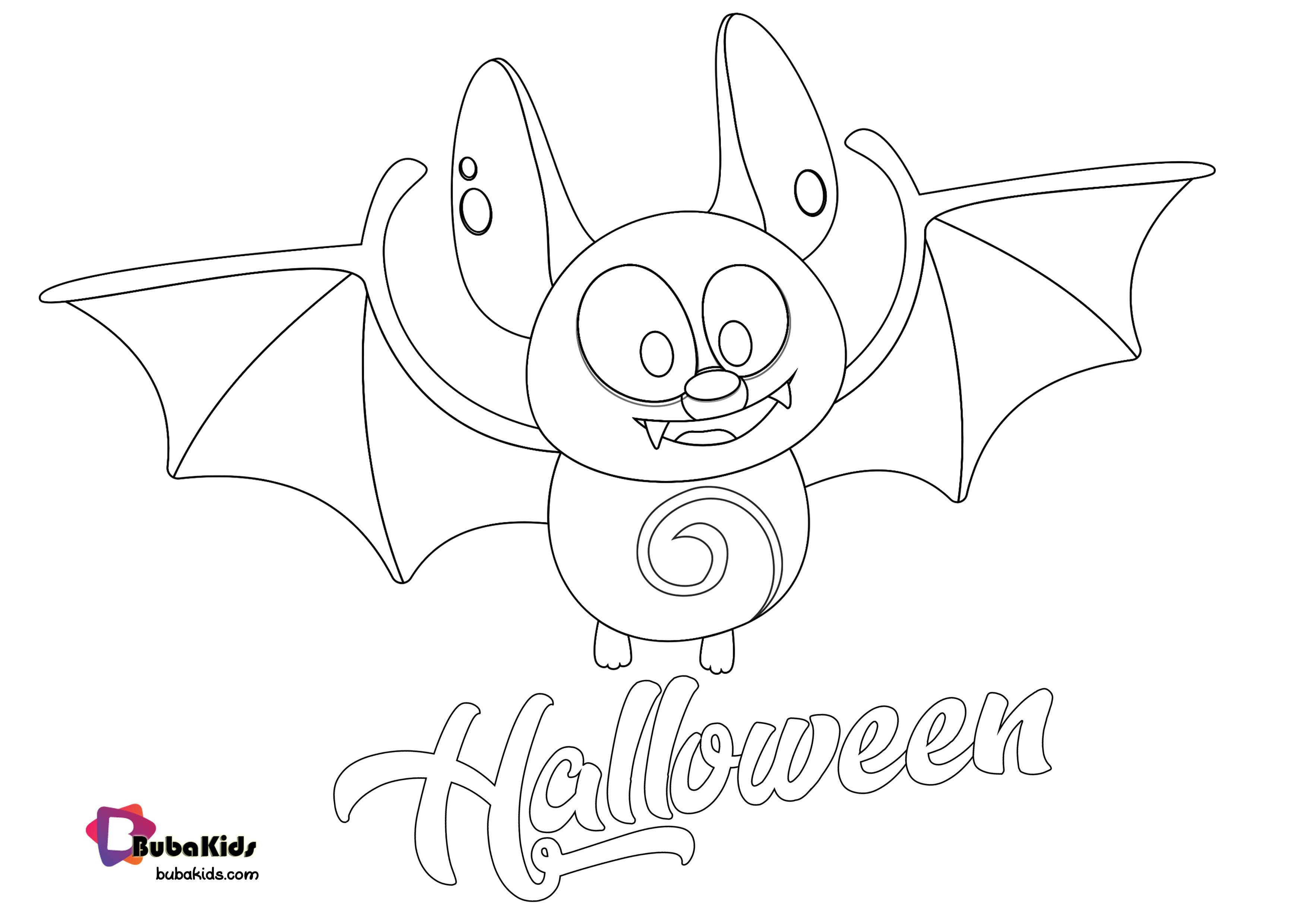 Bat Welcome October Happy Halloween Coloring Page Happyhalloween Welcomeoctober Animal Coloring Halloween Coloring Pages Halloween Coloring Coloring Pages