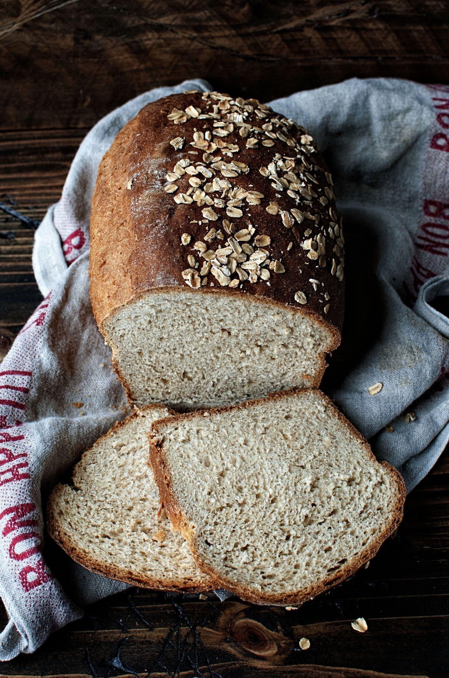 Oatmeal Buttermilk Maple Sandwich Bread From Peabody Rudd Sandwich Bread Just Bake Oatmeal Bread