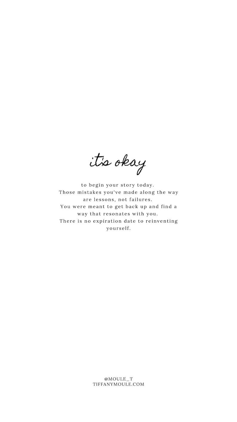 it's okay... Quote by Tiffany Moule