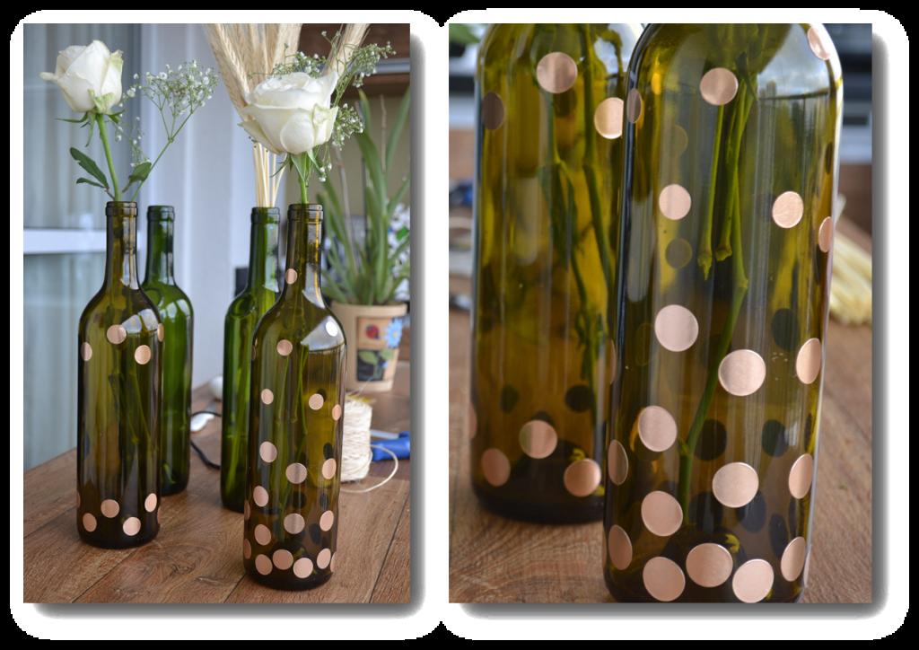 Reciclagem de garrafas de vinho: veja como fazer! Arteiras de Coração www.arteirasdecoracao.com.br