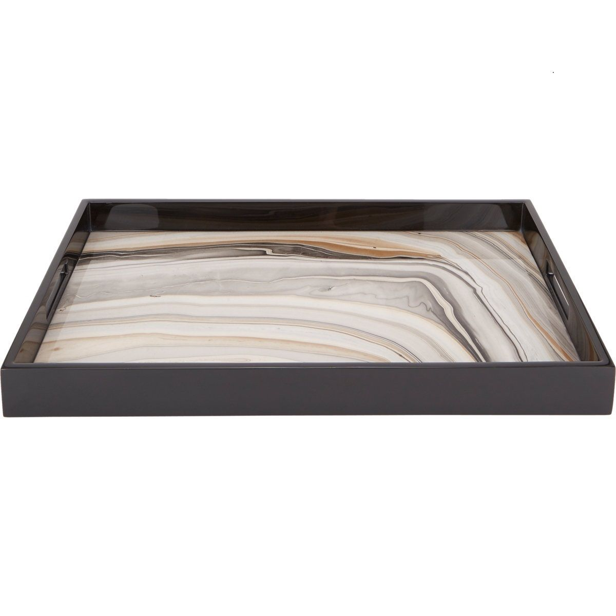 Badkamer Tray Limited Production Design Arizona Agate High Gloss Breakfast Tray