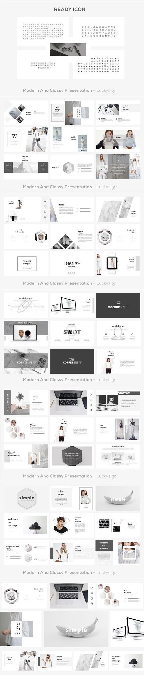 simple presentation template presentation templates template and layout design