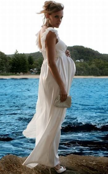 Casual Maternity Wedding Dresses How to Choose Best Beach Maternity ...