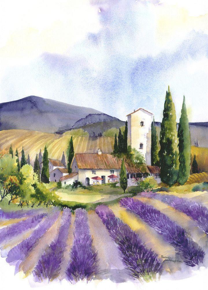 Image Associee Peinture Paysage Peinture Tableaux Paysage