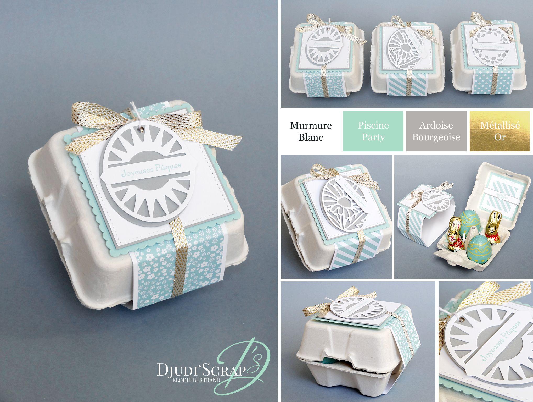 Mini Boite A Oeufs Paques Thinlits Etiquettes Intemporelles Boite A Oeuf Idees Pour Paques Boite